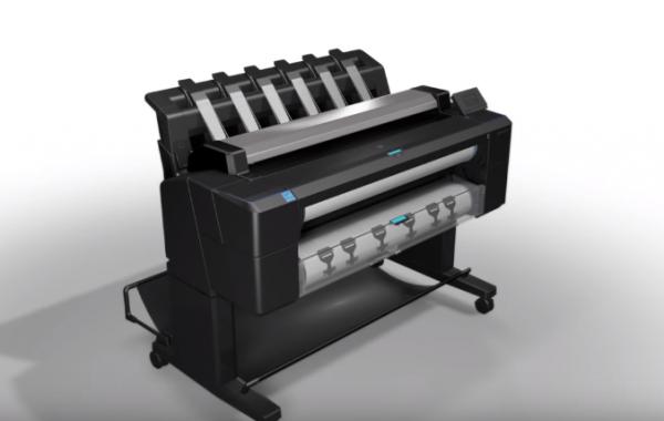 Печать, сканирование, копирование с новым НР Designjet T2530