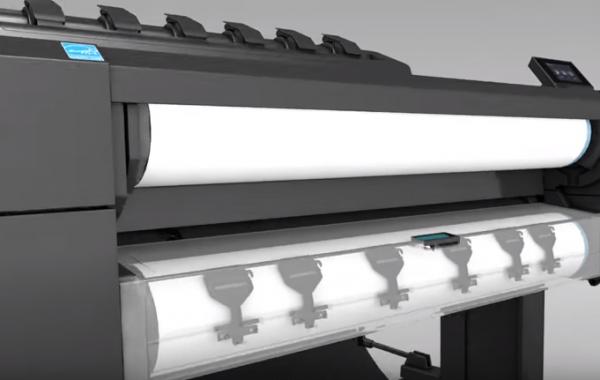 Обзор струйного плоттера HP DesignJet T1530