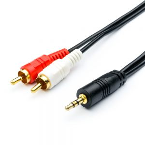 Аудио-кабель 1.5 м (Jack3.5/2RCA)